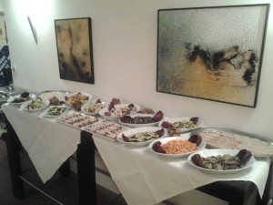 Cristmas Luxus Night-Buffet Foto TB