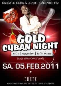 Gold Cuba Night 2011