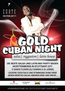 Gold Cuban Night 2