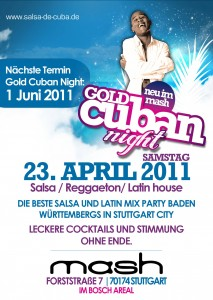 Gold Cuban Night blue 2